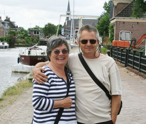 Jan and Jo in Holland